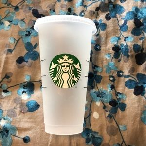 Like new clean reusable cold Starbucks tumbler